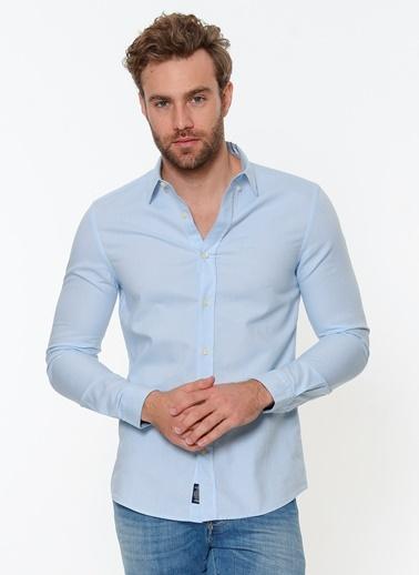 Cepsiz Gömlek-Mavi